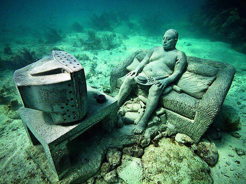 Cancun Underwater Museum photo
