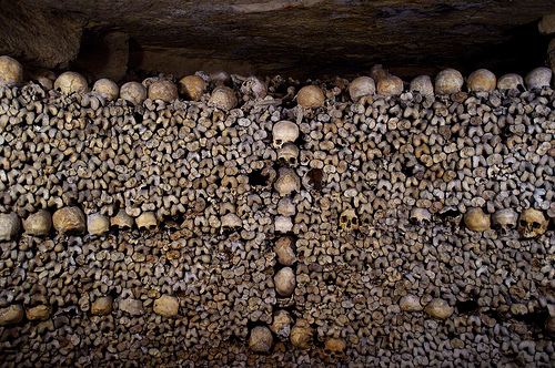 Catacombs of Paris photo