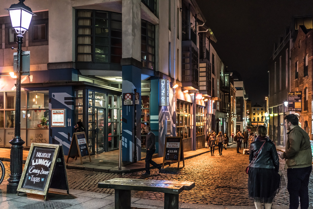 temple bar dublin fotografia