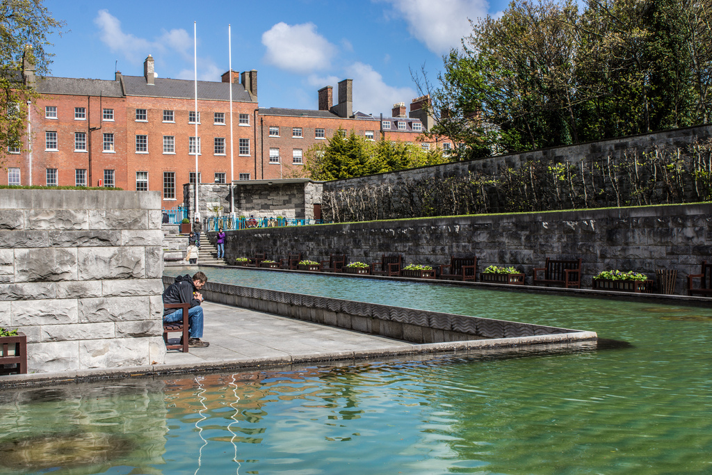 dublin Garden of Remembrance fotografia