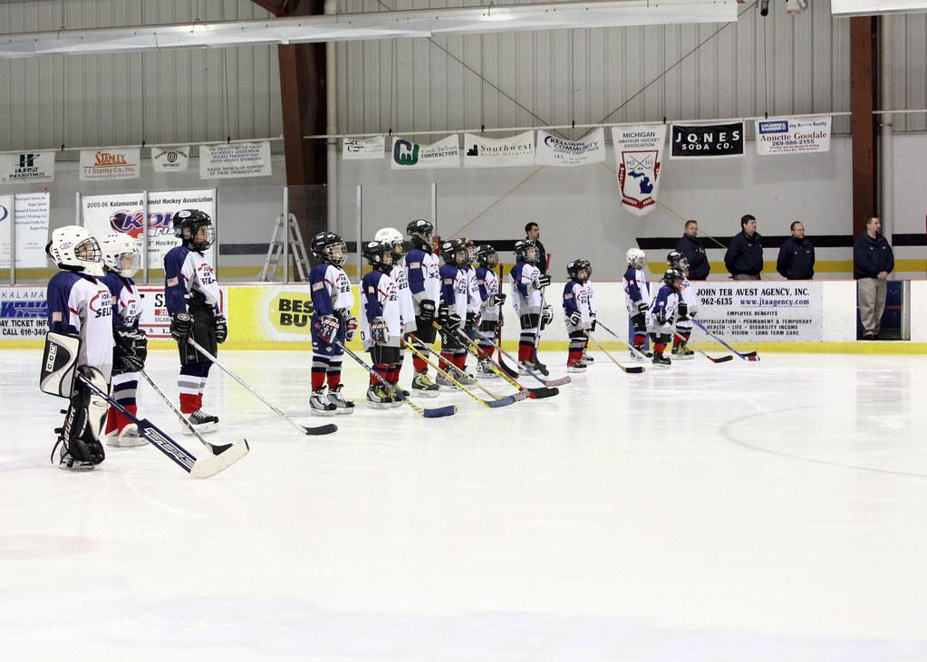 kid ice hockey fotografia